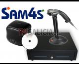 Pack Cajón 41x41 + Impresora de tickets 80 mm + Lector de código de barras + Sotfware CodigoAbertoTPV Hosteleria