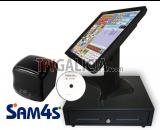 Pack Monitor Táctil + Cajón 41x41 + Impresora de tickets 80 mm + Software CodigoAberto TPV Comercios