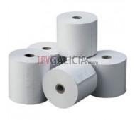 Caja de 10 rollos de papel térmico 57 x 55