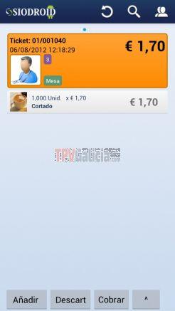 Licencia de software SIODISPLAY para mostrar información de visor de cliente y publicidad
