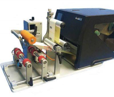 Aplicador semiautomático de etiquetas para botellas - Modelo AG1000F