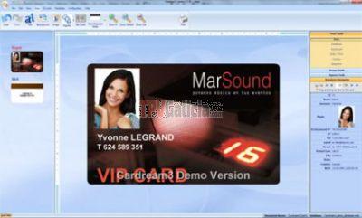 Programa de impresión de tarjetas plástica CARDREAM3