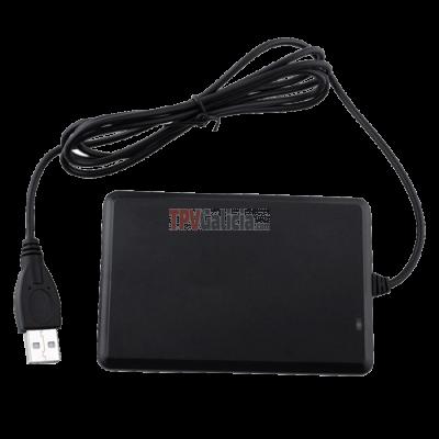 Lector USB de proximidad RFID MIFARE 13,56 khz para tarjetas y pulseras- Serie LG-MI-13-01