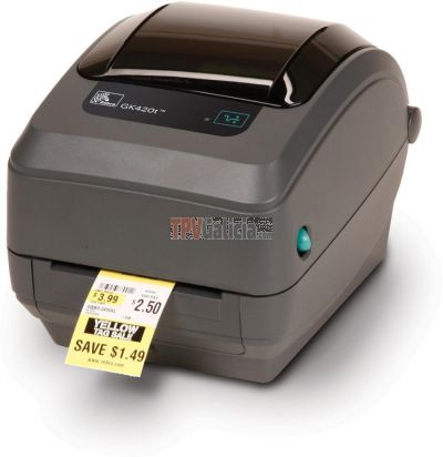 Zebra GK420T - Impresora de etiquetas Transferencia Térmica