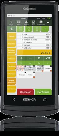 KIT Mando NCR Orderman5 + Batería + eBase + Care2Gold (