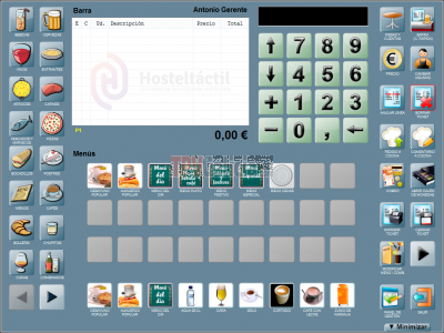 HOSTELTACTIL - Software para Hostelería