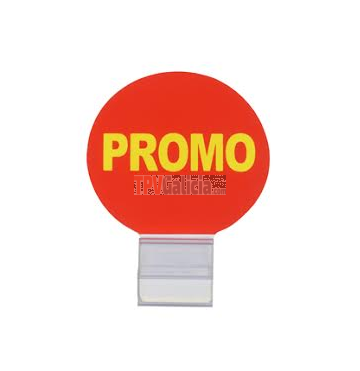 Promo badge + cristal clip - Set 25 unidades