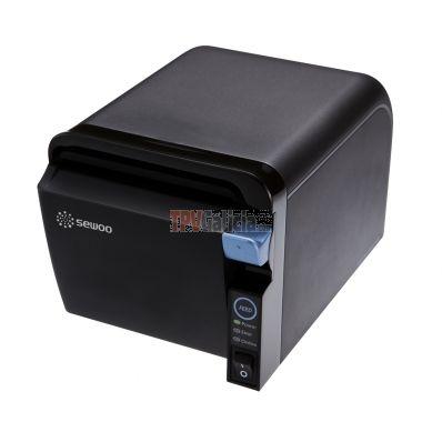 Impresora de recibos salida papel frontal - Sewoo SLK-TE25 USB - Negra