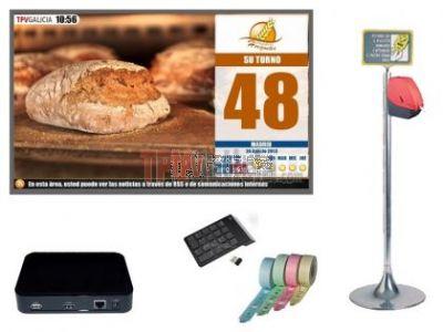 Kit Su-Turno Multimedia TURNO-TWIN para 2 colas  (sin monitor )