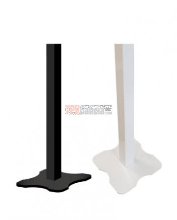 Soporte Pedestal Metálico color Blanco para impresora TURNO-TOUCH2