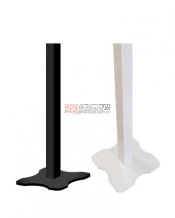 Soporte Pedestal Metálico color NEGRO para impresora TURNO-TOUCH2