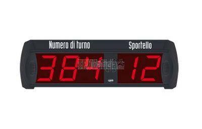 MULTI ST-32 Pantalla de turno de 3 dígitos + puesto con mando a distancia