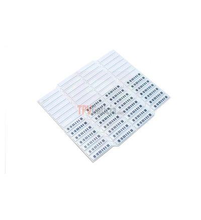 Etiqueta Antihurto Adhesiva AM 58KHz - Mini Ultra Strip C. barras DR+  Desactivables - Caja de 5000 unidades