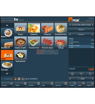 Software TPV BGET-POS Pro - HOSTELERIA