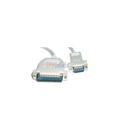 Cable RS232 para Impresoras y Visores Epson