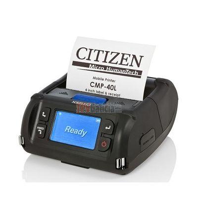 """Impresora portátil Citizen de 4"""" CMP-40L para tickets y etiquetas"""