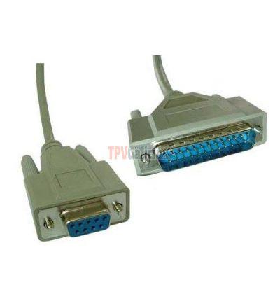 Cable Impresora Serie DB25/DB9