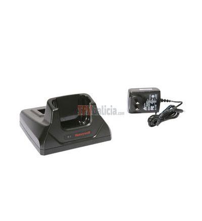 Base de carga y comunicacion RS232 + USB + Cable USB para PDA Dolphin 6000