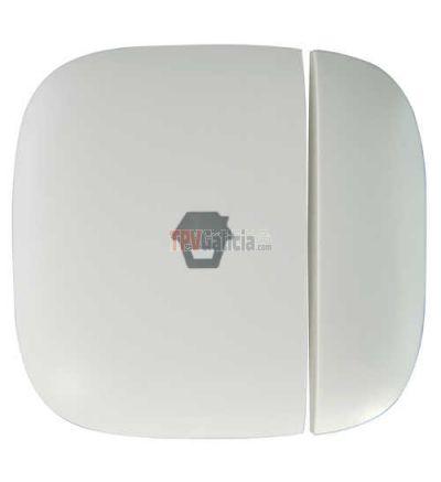 Detector contacto magnético Inalámbrico Antena interna Indicador LED de baja bateria Compatible con Panel H4 Alimentación 2 pilas AAA 1.5 V LR03