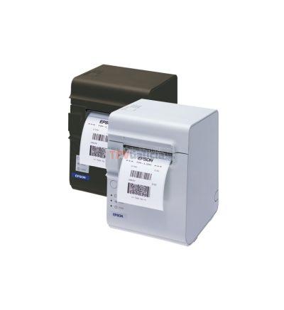 Impresora de etiquetas EPSON TM-L90 y recibos con función de despegado automático