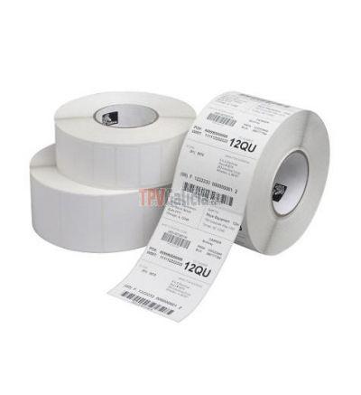 Etiquetas Poliolefina con semi-brillo para Impresoras ZEBRA Industriales Transferencia Térmica con Adhesivo Permanente