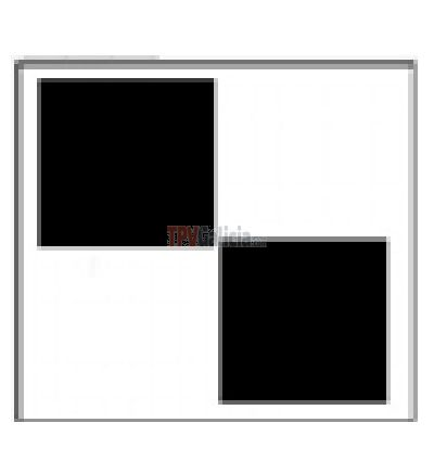 Etiqueta adhesiva 4x4 RF Negra - Caja 1000 unidades