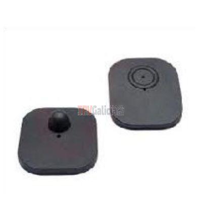 Etiqueta plástica rígida negra - BIG hard RF 8,2 MHz - Caja 1000 unidades