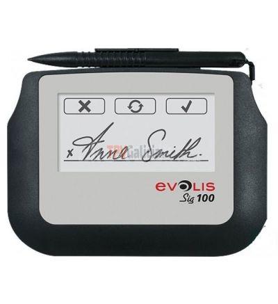 Terminal de firma digital Evolis Sig100 y Sig200