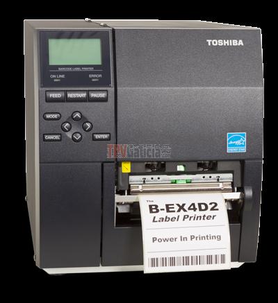 Impresora de etiquetas Industrial Toshiba B-EX4D2
