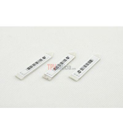 Etiqueta adhesiva colgante AM 58KHz - Caja 1000 unidades