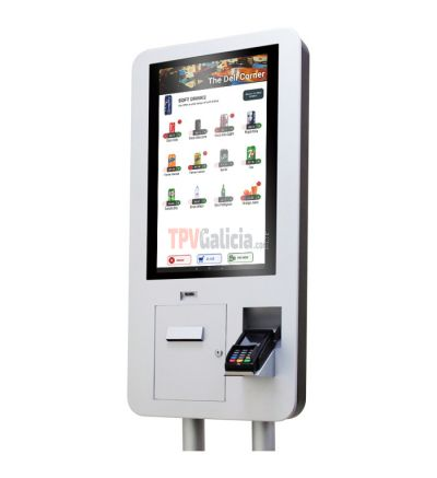 TG-250-AND - Kiosco táctil autoservicio con android e impresora integrada