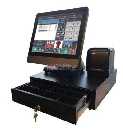 Pack TPV táctil LUNARPOS completo con Software TPVGALICIA-POS Retail con Tallas y Colores