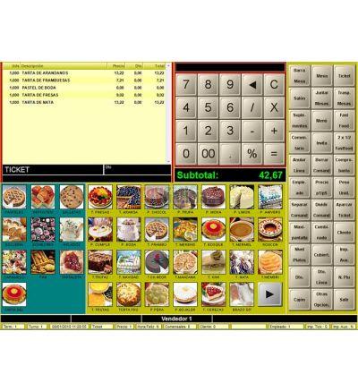 Software TPV para panaderias y pastelerias BDP.Ne