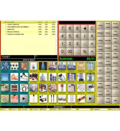 Software TPV para peluquerías y estética BDP.Net