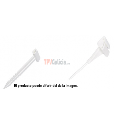 Ticket Spike 8 cm altura - Set 25 unidades