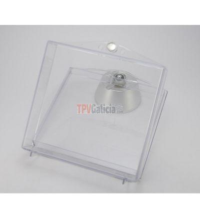 Protector BOX cerrado - Medida Compact Disc - Caja 20 unidades