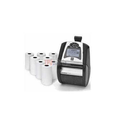 Zebra QLn420 / Plus - Etiquetas Adhesivas Zebra de Papel para Impresoras Portátiles Térmicas Directas