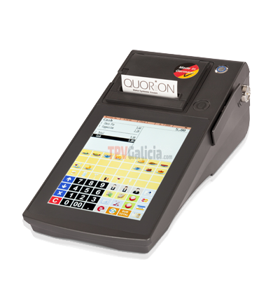 QTouch 8 - Small All-in-One POS System
