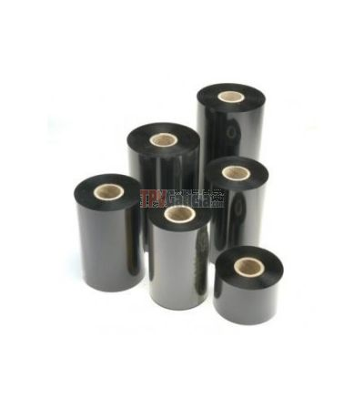 """Ribbon PREMIUM (mandril de 1 pulgada). Impresoras de 6.5"""" ancho SATO CL6NX. 152 mm ancho y 450 metros de rollo. Cera, mixto o resina."""