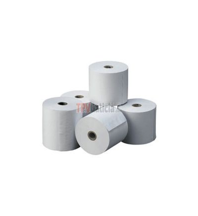 Caja de rollos de papel térmico 80 x 80 mm
