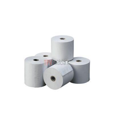 Caja de rollos de papel electra impresora matricial 76 x 65 mm