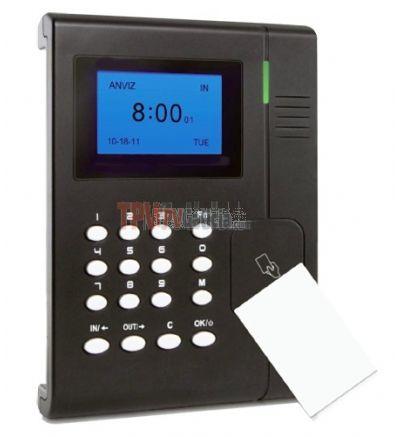 SCANPEK EM Tarjeta/pin - Kit de Control Horario con Lector y Programa de Gestión