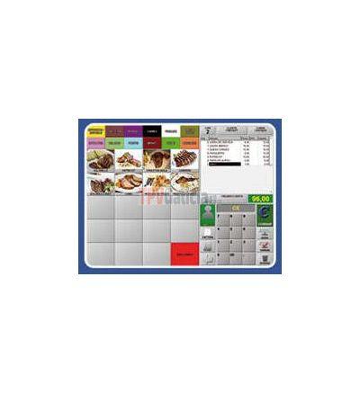 Software TPV para FireSoft Hostelería Software para la gestión de ventas de Restaurantes, Cafeterías, Pizzerías, Discotecas, Fast-Food, etc. Puede trabajar con mandos, monitores cocina, etc...