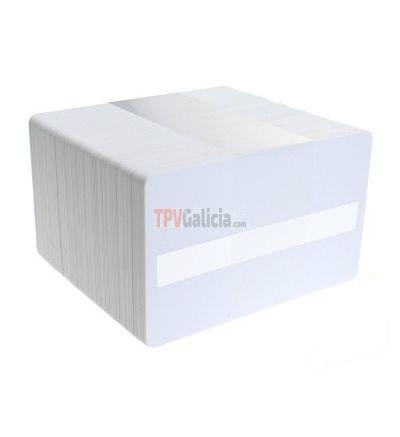 Tarjetas PVC blancas con panel de firma para impresoras de tarjetas