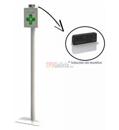 Termómetro sin contacto adecuado para la toma de temperatura en 1 segundo sin riesgo de contagios en bebés, niños y adultos