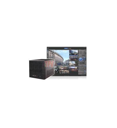 NVR IP TITAN de 4 Canales. Multimarca, compresión H.264, (Ampliable hasta 64 Canales), hasta 4 HDD/3 TB