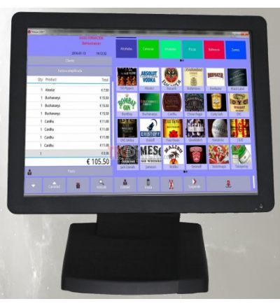 "TPV 15"" táctil Quad Core Android"